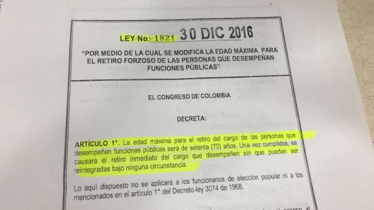 """Universidad Nacional: """"Puedo ser rectora hasta que cumpla 80 años"""": Dolly Montoya"""