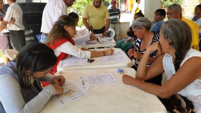 Víctimas del conflicto Cartagena: Jornada de atención a víctimas en Malagana, Bolívar