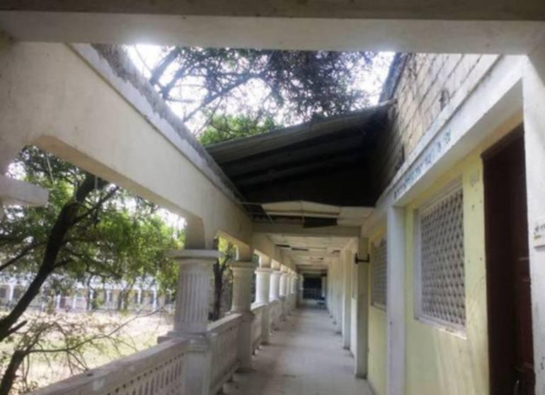 Con tutela, buscan agilizar reparación de colegio en ruinas en Cartagena: Con tutela, buscan agilizar reparación de colegio en ruinas en Cartagena