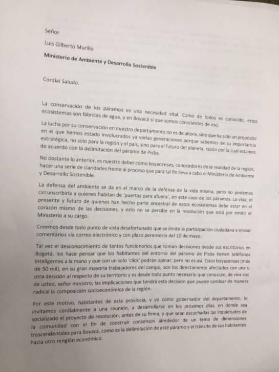 Delimitación Páramo Pisba: Comunidades piden claridad sobre delimitación de Páramo de Pisba