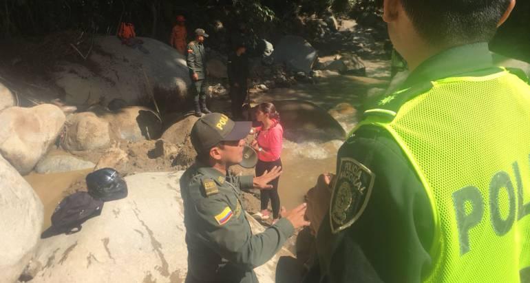 CADÁVER, MUERTO, OBRERO: Encuentran cuerpo de persona desaparecida en la Corcova