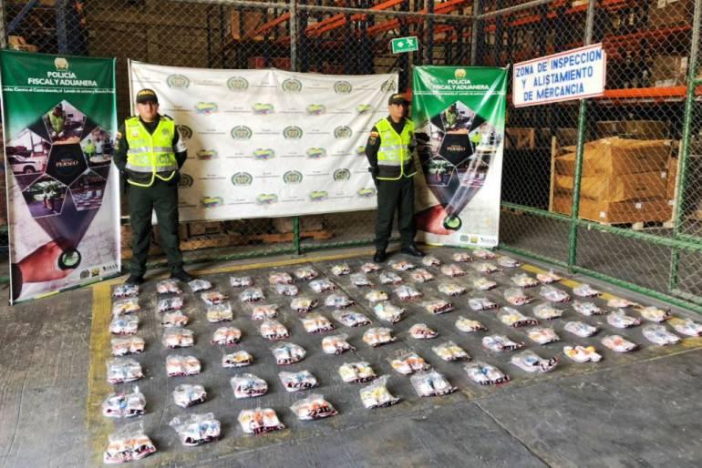Contrabando Cartagena: Incautados más de 1.150 pares de zapatos de contrabando en Cartagena