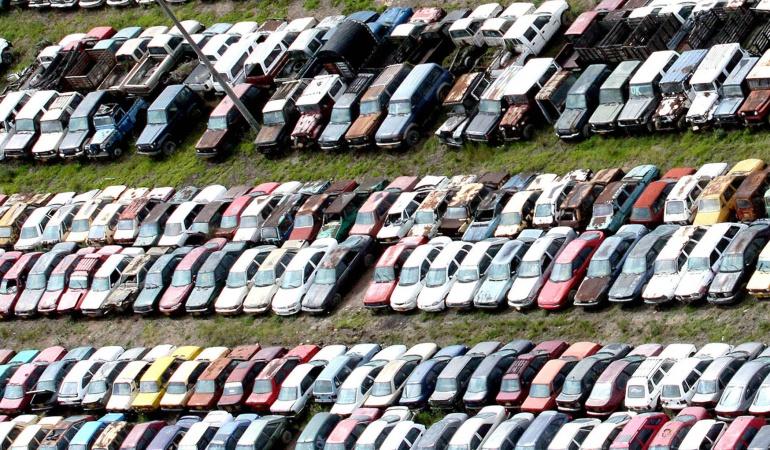 Subasta de carros abandonados en Bogotá: Inició el proceso de subasta de vehículos abandonados en Bogotá