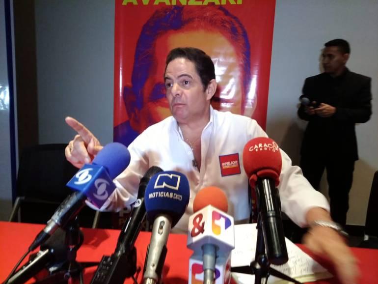 Elecciones 2018 De la Calle - Vargas Lleras: De La Calle es el campeón olímpico del transfuguismo, afirma Vargas Lleras