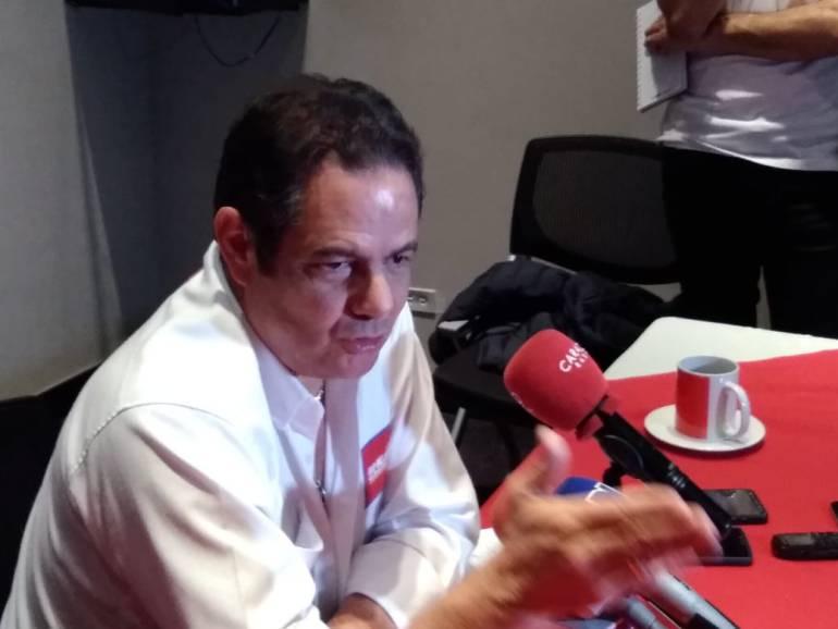 Elecciones 2018 presidente Colombia. Caso Santrich: Santrich es un ciudadano común y corriente que no tiene ningún fuero