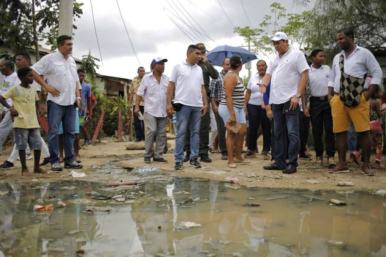 Alcaldía de Cartagena presentará proyecto para alcantarillado de Bayunca