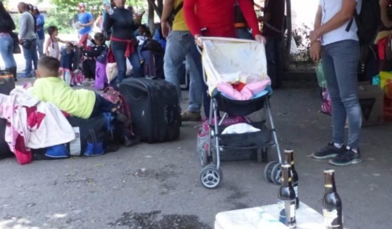 Ventas informales de los venezolanos en La Parada