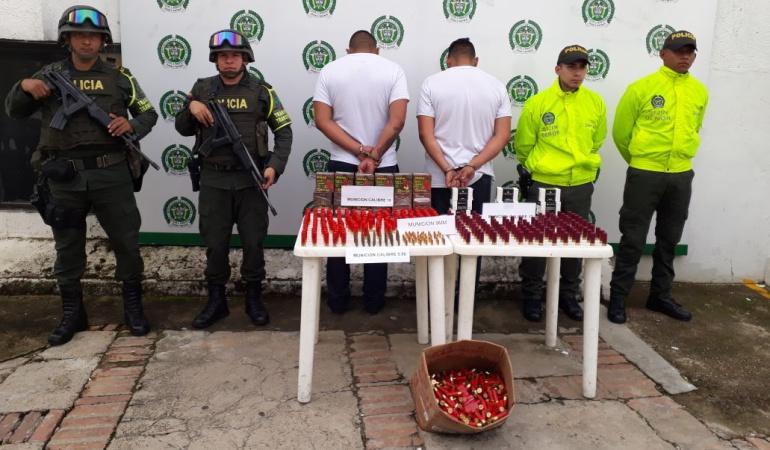 Capturados hombres con cartuchos en Ocaña