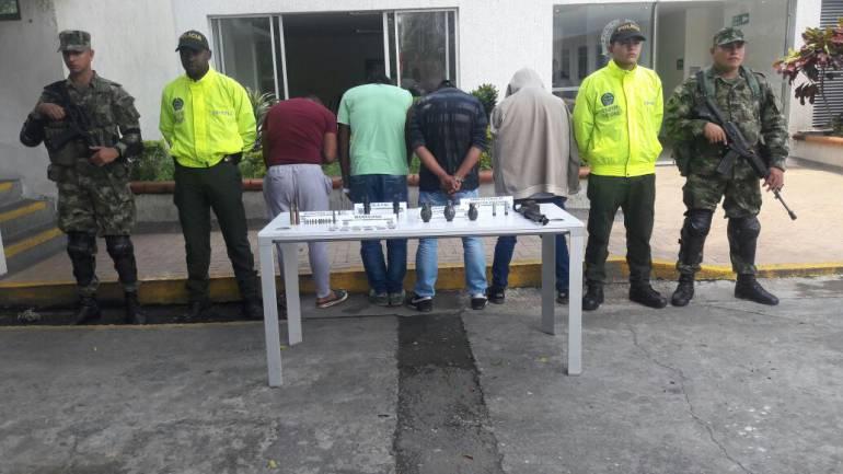 ELN capturas: Capturan 4 miembros del ELN en el norte del Valle
