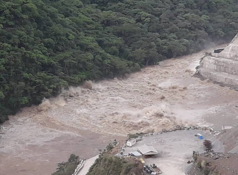 Puede repetir creciente del río Cauca por destaponamiento en Hidroituango