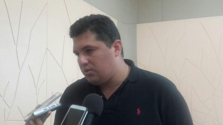 El Subsecretario de Gestión de Riesgo, Edison Palma.