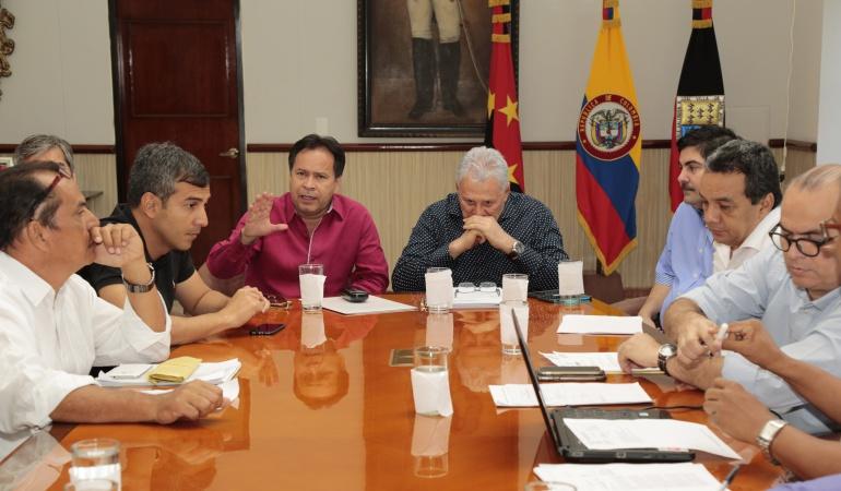 Junta de alcaldes metropolitanos que conformaron el acueducto metropolitano