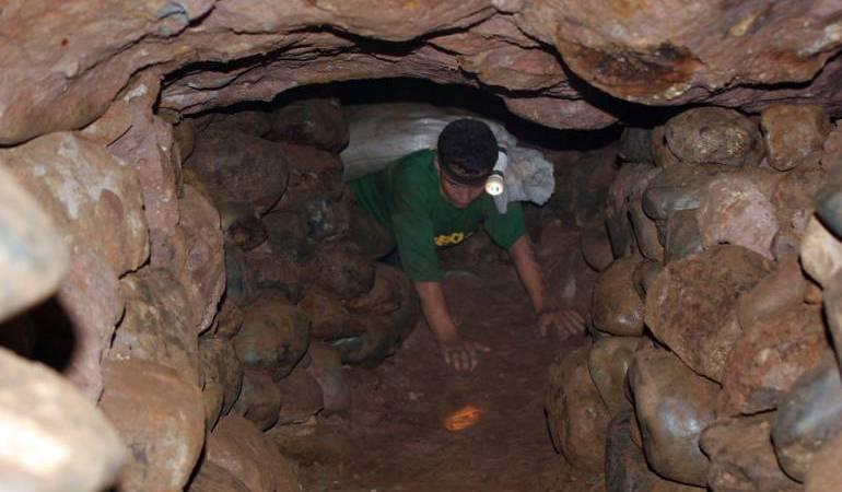 Minería tradicional en Marmato, Caldas
