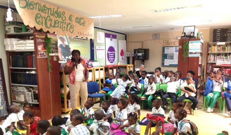 Bibliotecas públicas Bolívar: Bibliotecas de Bolívar siguen recibiendo visitas de escritores colombianos