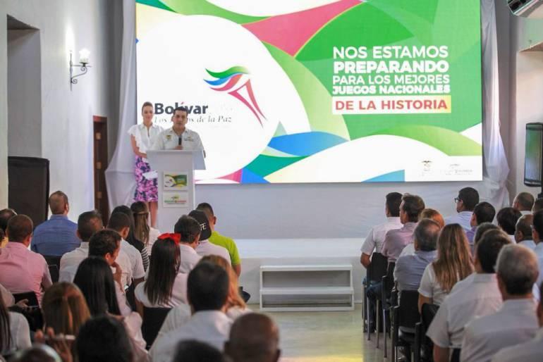 Bolívar Sí Avanza presentó diseños de los XXI Juegos Deportivos Nacionales: Bolívar Sí Avanza presentó diseños de los XXI Juegos Deportivos Nacionales
