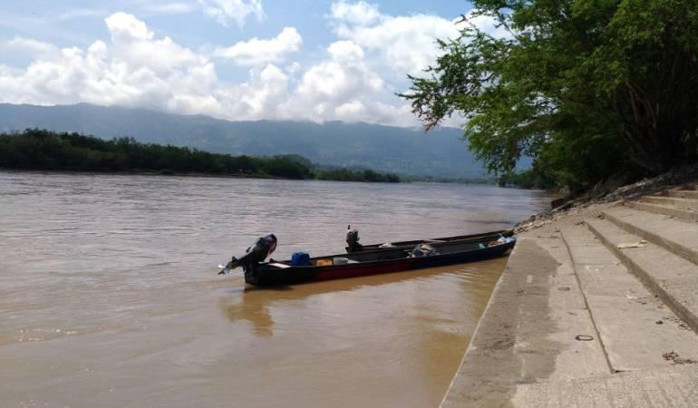 Río Magdalena a su paso por La Dorada, Caldas
