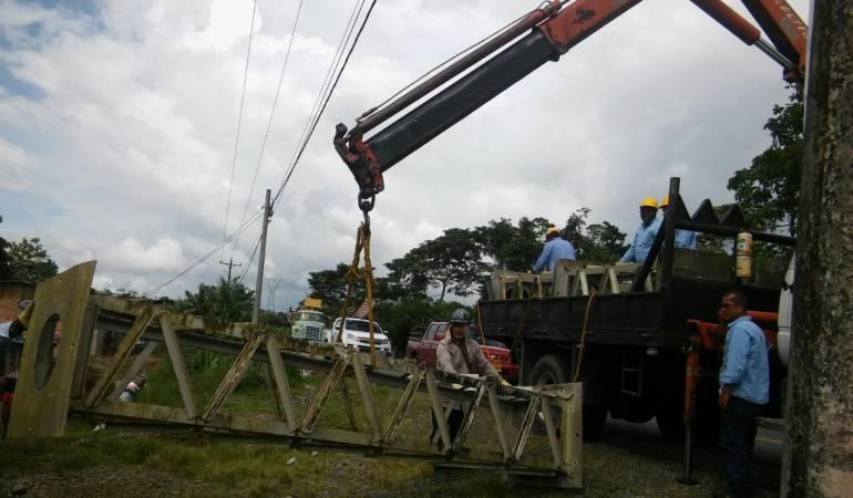 Torre de energía: Superado daño en torre de energía en Tumaco