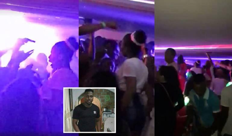 balacera: Balacera en discoteca de Juanchito deja un muerto y un herido