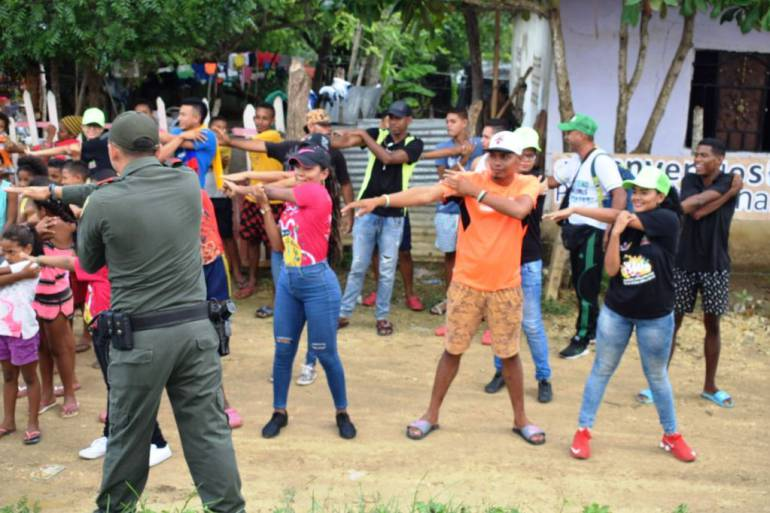 Arjona Bolívar: Arjona Bolívar: Inició jornada de cazatalentos 2018 de la Policía Nacional