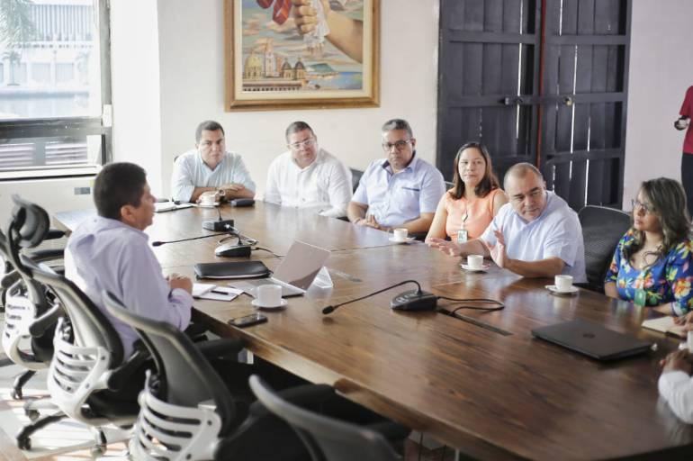 Alcaldía de Cartagena: Alcalde de Cartagena inicia reuniones con secretarios de su gabinete