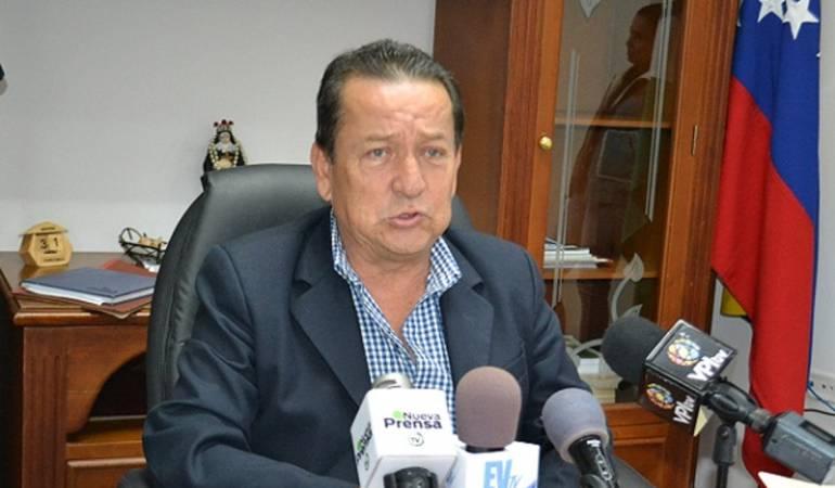 Alcalde de San Cristóbal, Gustavo Delgado.
