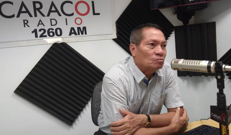 Elio Fabio Rodríguez, director territorial del Ministerio del Trabajo