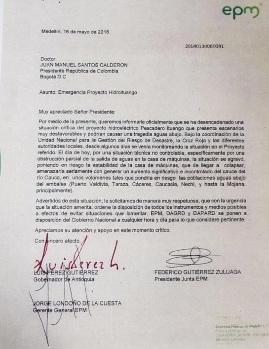 Hidroituango EPM alerta Cauca: Videos muestran magnitud en emergencia de Hidroituango