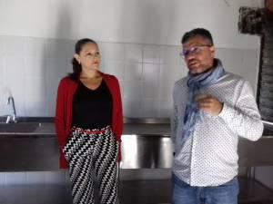Rectora institución Educativa Las Colinas, Reina Patricia Castaño