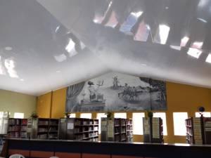 Cielo raso de la bilblioteca del colegio Inem de Armenia