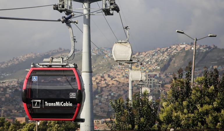 Cable aéreo Ciudad Bolívar: Adjudicado operador para el cable aéreo en el sur de Bogotá