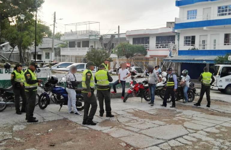 Delincuencia Cartagena: Policía metropolitana de Cartagena frustra atentado criminal