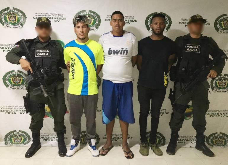 Delincuencia Cartagena: Capturados 3 presuntos extorsionistas venezolanos en Manzanillo Cartagena