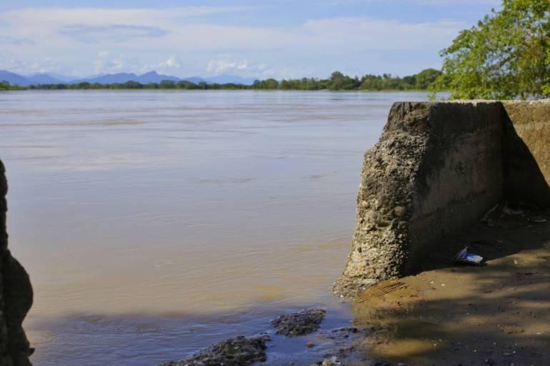 Emergencia Hidroituango sur de Bolívar: Consejo de Gestión de Riesgo en Achí, Bolívar, por alerta en río Cauca
