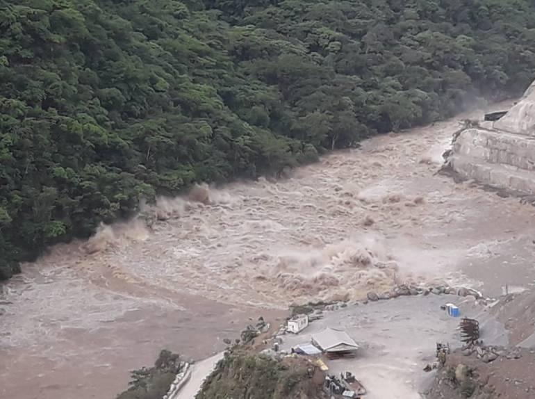 Hidroituango se salió de control y EPM pide intervención al Gobierno Nal