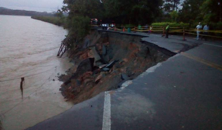 Cerrada la vía Medellín-Costa Atlántica por emergencia en Hidroituango