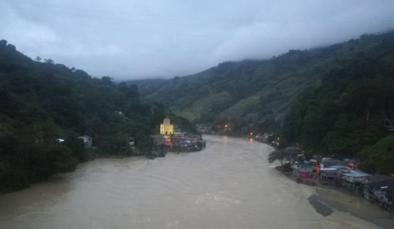 Lluvias continuarán a finales de mayo sobre Hidroituango: Ideam