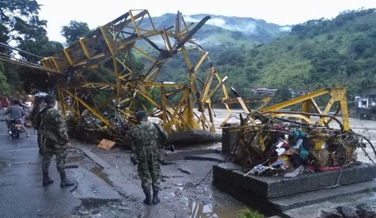 Hidroituango: En alerta máxima Fuerza Aérea por caso Hidroituango