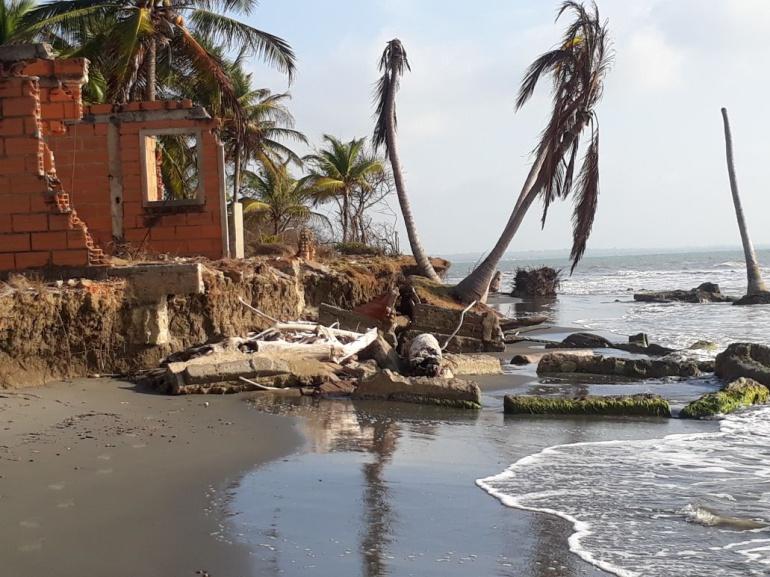 La erosión costera es un peligro inminente que año tras año asusta a los habitantes de varios municipios.
