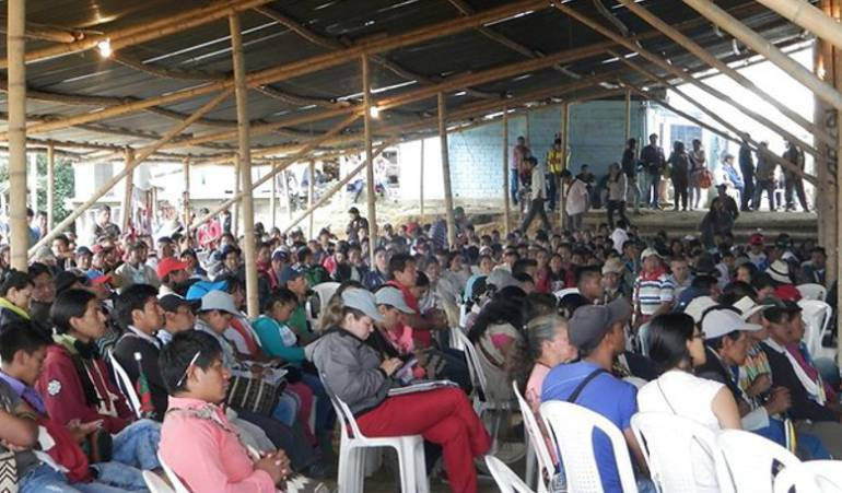 Desplazamiento de comunidades indígenas: Conflictos en comunidades indígenas causaron desplazamiento de 150 familias