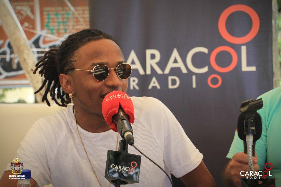 Zayder habla sobre su música en Caracol Radio