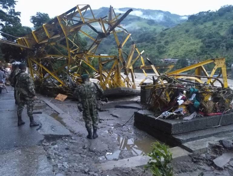 Emergencia en Hidroituango: Estudian cerrar vía Puerto Valdivia - Caucasia por crisis en Hidroituango