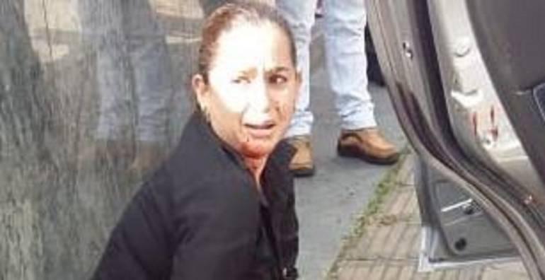 capturan mujer: Capturan a mujer señalada de apuñalar a su esposo