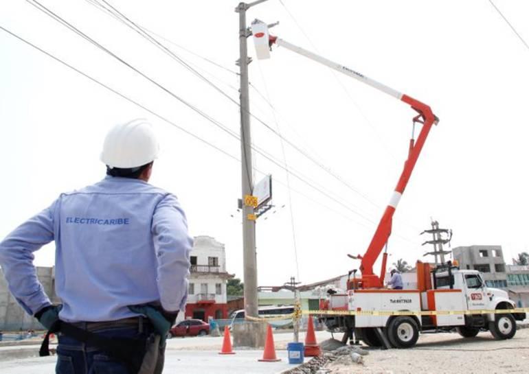 Electricaribe mantenimiento Cartagena barrios sin energía: Electricaribe dejará sin energía a 30 barrios de Cartagena este domingo