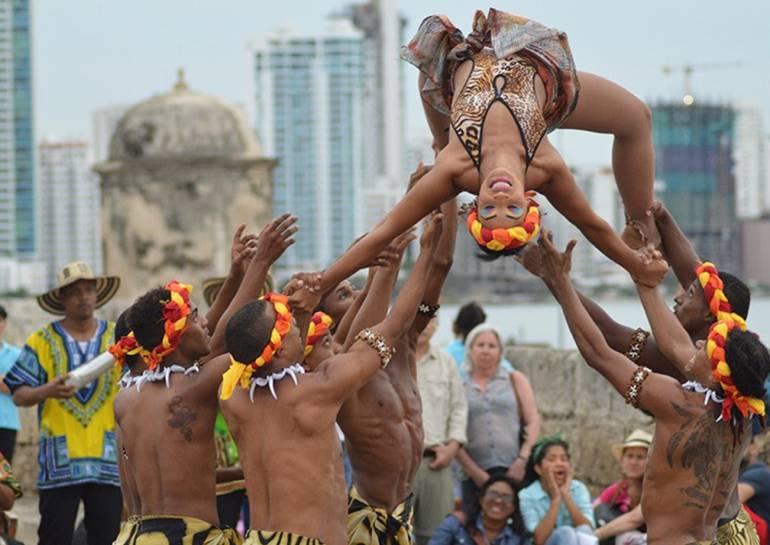 Corredor cultural en murallas de Cartagena, homenaje a herencia africana: Corredor cultural en murallas de Cartagena, homenaje a herencia africana