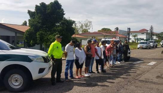 Bandas narcotráfico: Policía desarticula banda delincuencial en mariquita, Tolima