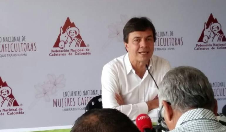 Roberto Vélez Vallejo, gerente general de la Federación Nacional de Cafeteros