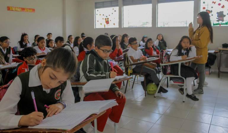 Colegio Pasto índice de calidad: Colegio de Pasto con puntaje mas alto del país en el índice de calidad