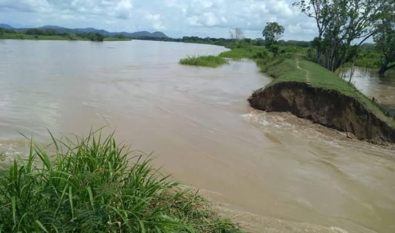 Hidroituango: Se amplía el boquete abierto por río Cauca en Guaranda