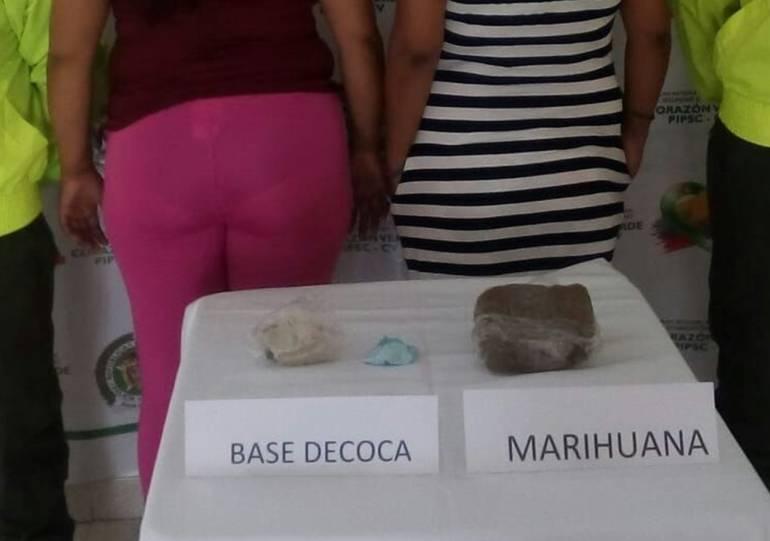"""Capturada """"La Cande"""", presunta expendedora de drogas en Magangué: Capturada """"La Cande"""", presunta expendedora de drogas en Magangué"""