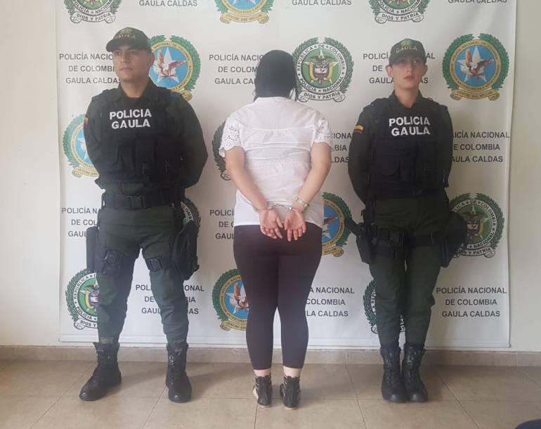 Extorsión, captura, Chinchiná, Banda delincuencial, Cárceles: Mujer capturada se hacía pasar por policía para extorsionar